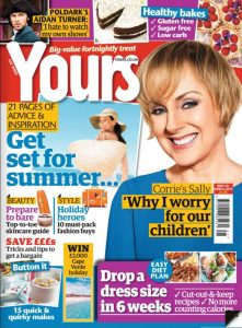 Yours mag Cover
