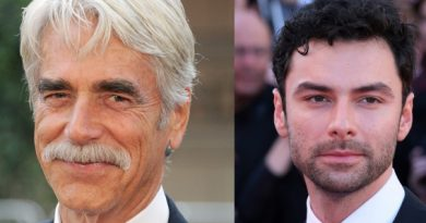 Sam Elliot and Aidan Turner