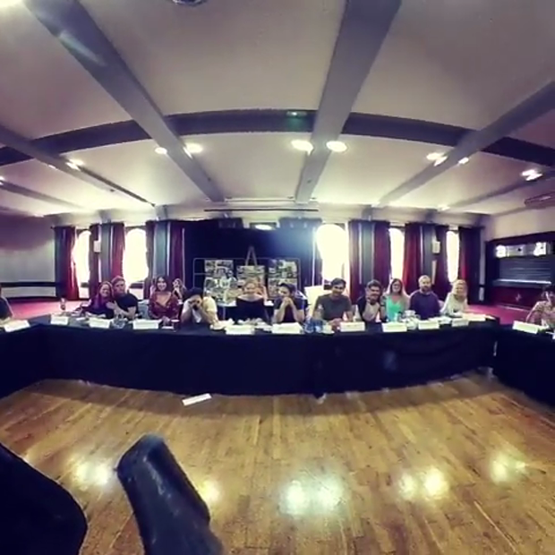 First Read Through