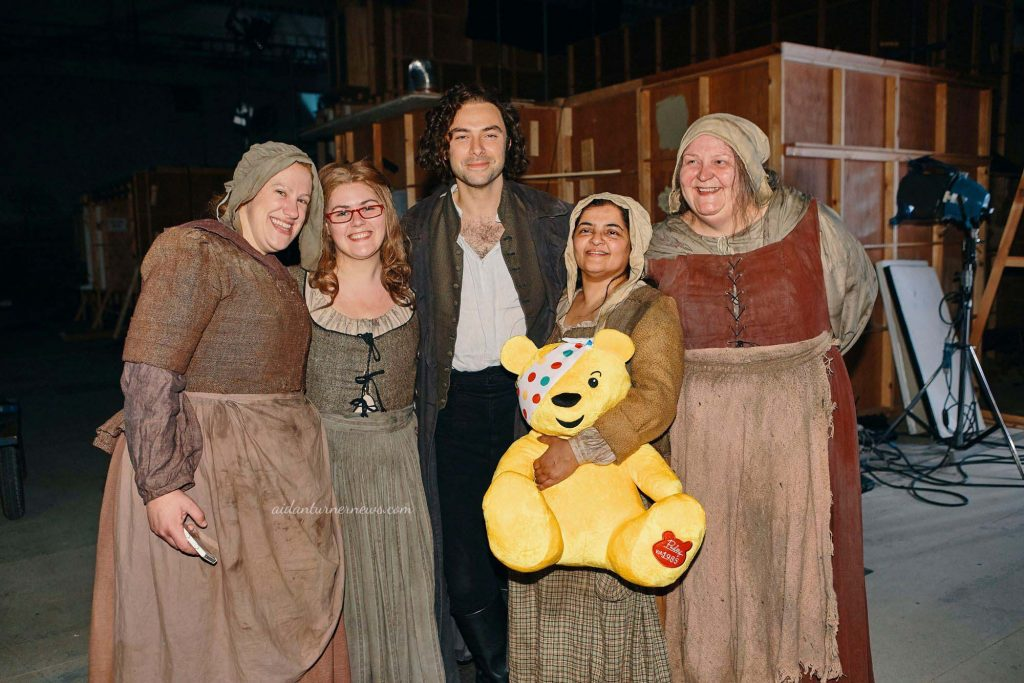 Aidan Turner Children In Need