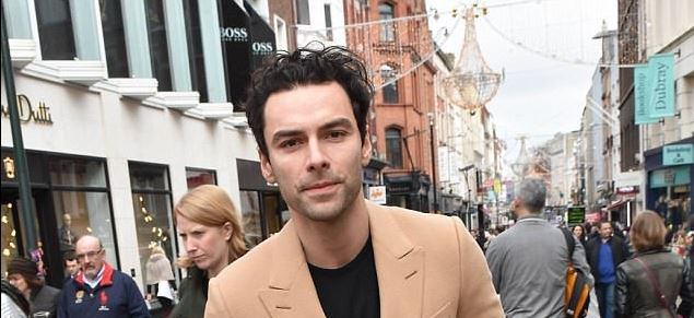 Aidan Turner in Dublin