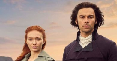 Aidan Turner and Eleanor Tomlinson in Poldark S4 Featured