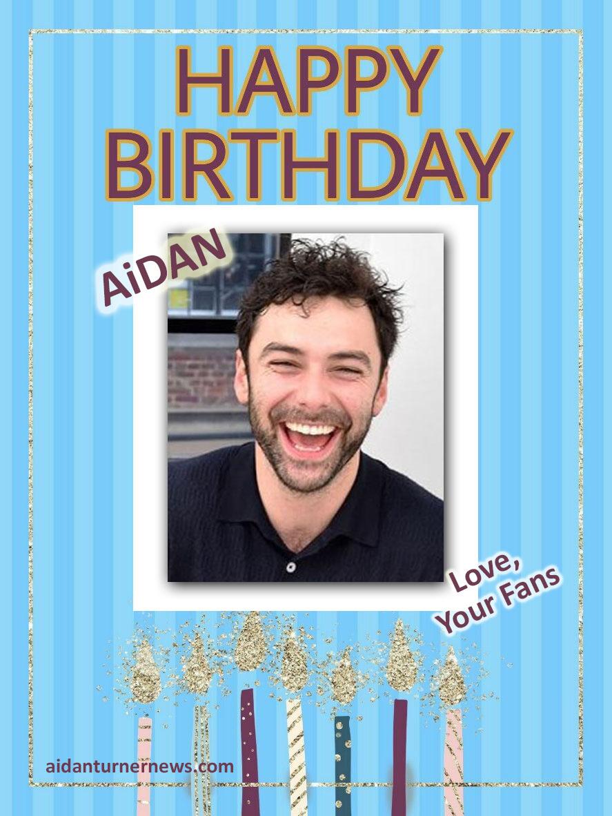 Aidan Turner Birthday