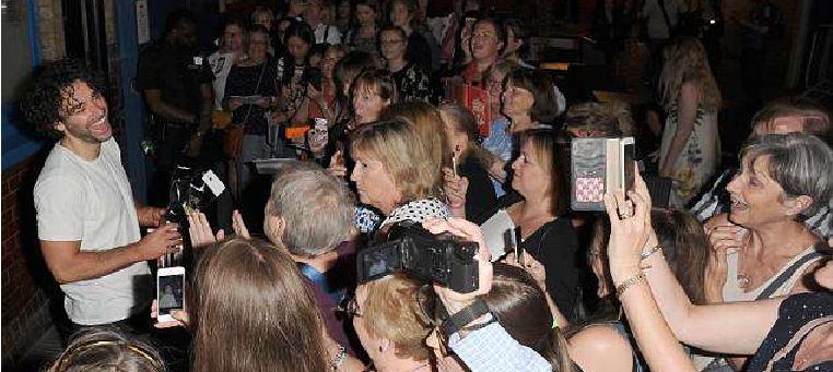 Aidan Turner fans featured