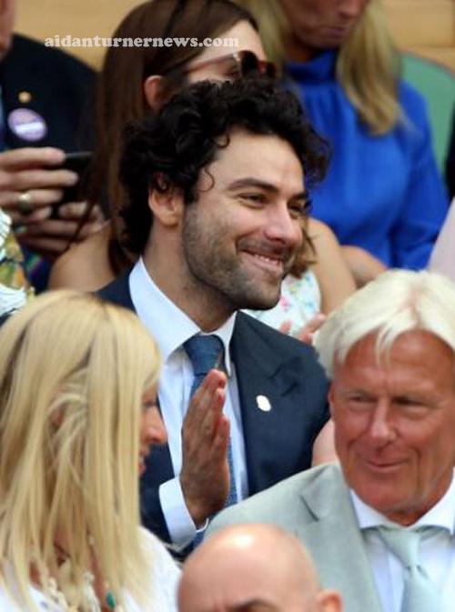 Aidan Turner Wimbledon