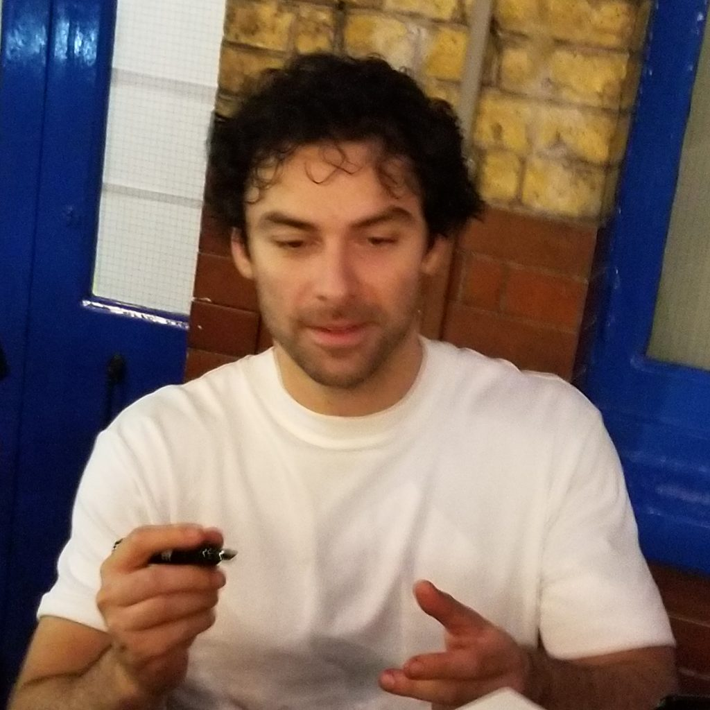 Aidan Turner Stage Door 3