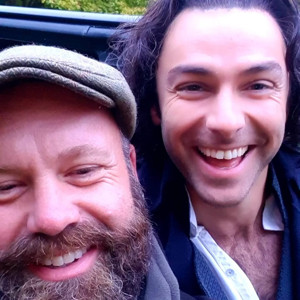 Aidan Turner and The Wiltshire Boy