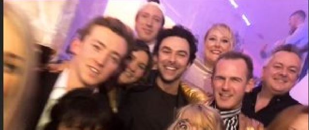 poldark wrap party featured