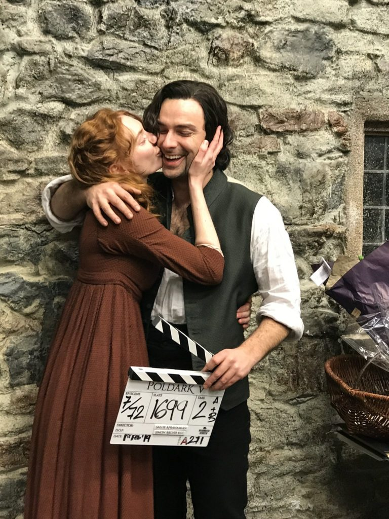 Aidan Turner Eleanor Tomlinson