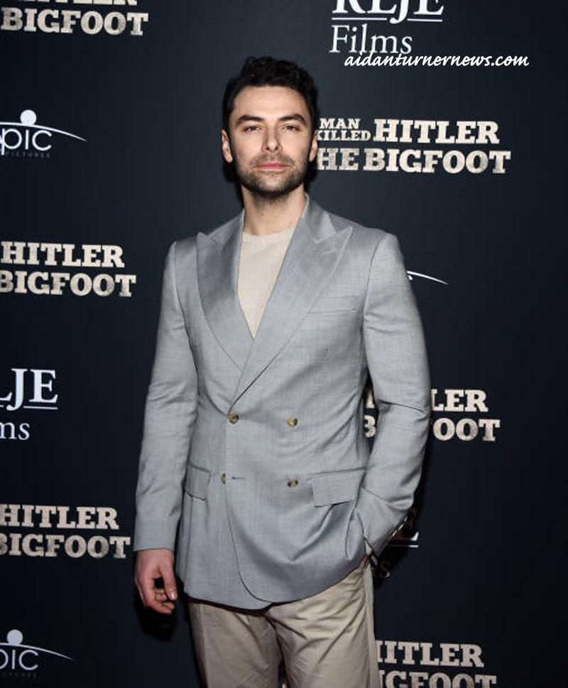 Aidan Turner Suit