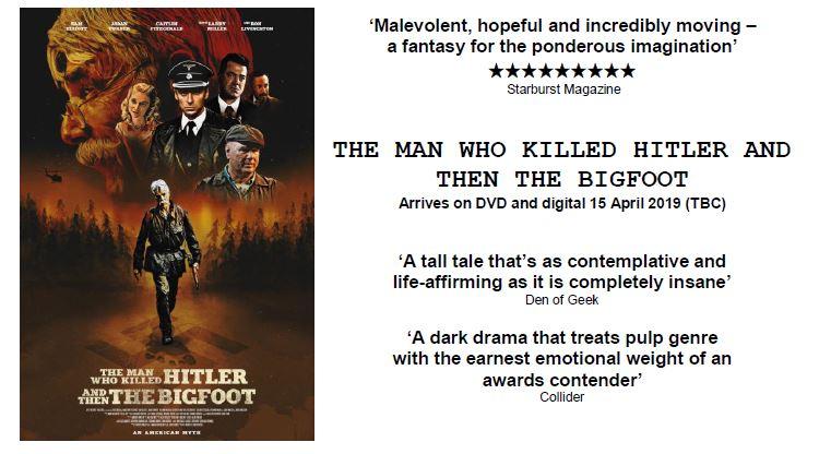 Hitler Bigfoot UK Ireland release