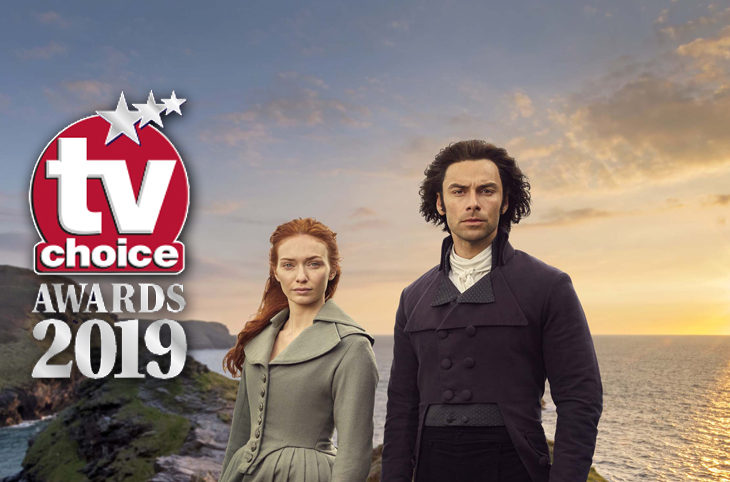 Aidan Turner Eleanor Tomlinson TV Choice Awards