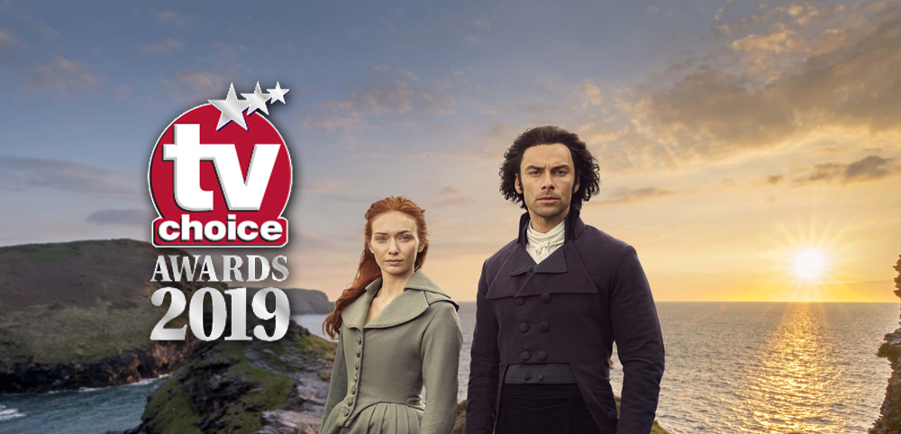 Aidan Turner Eleanor Tomlinson TV Choice Awards