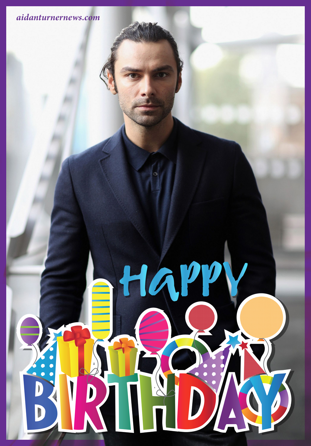 Aidan Turner Birthday