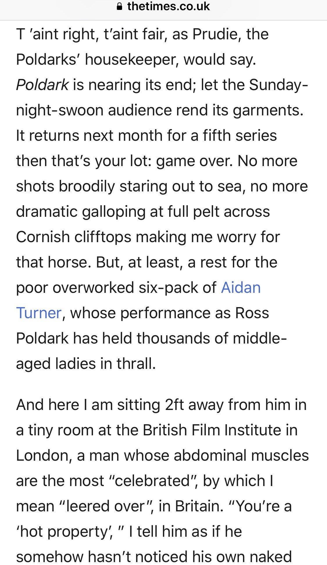 Aidan talks Ross