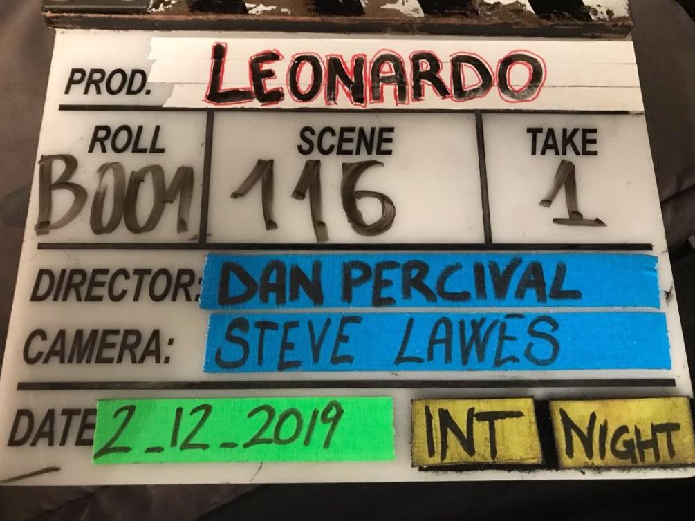 Leonardo Filming