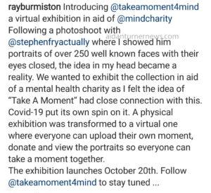 Ray Burmiston Instagram