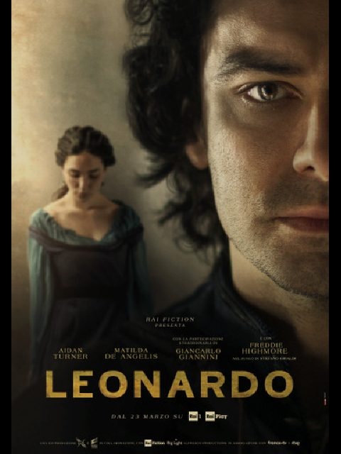 Italian Leonardo Poster
